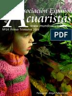 Boletin Asociación Española de Acuaristas 14