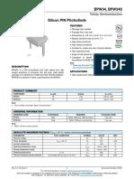bpw34 datasheet