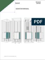 RFA2220 Elevator Manual