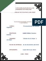 Laboratorio 3 - Pds