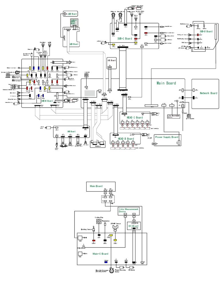Wiring Diagrams epson 4900