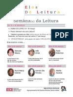 Cartaz Semana da Leitura 2016 AERSI
