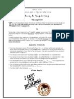 WRIT 1122 Essay 1 Assignment