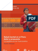 OPS Salud Mental Peru Huancavelica