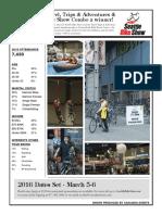 Seattle Bike Show Demographics 2015