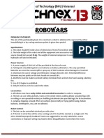RoboWars-Technex 13