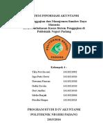 SDM Dan Penggajian 22-12-2015