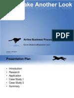 Airline Business Process Optimization