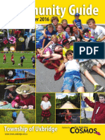 Township of Uxbridge - Community Guide for Spring to Summer 2016
