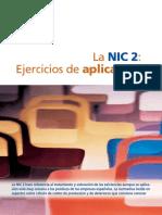 La NIC 2- Ejercicios de Aplicación