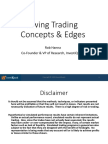 Swing Trading Concepts With InvestiQuant