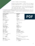 Calculo II - Aplicação Derivadas