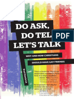 Sample of Do Ask, Do Tell, Let's Talk, by Brad Hambrick