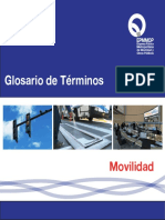 Glosario Movilidad Quito