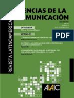 ALAIC Revista Latinoamericana de Ciencias de la Comunicacion