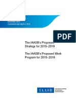 IAASB Strategy and Work Program Consultation Paper Final