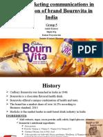 Evolution of Brand Bournvita Group5