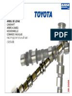 Árboles de Levas para Motores Toyota