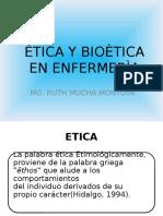 Ètica y Bioètica en Enfermerìa