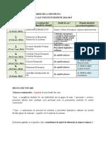 Institutii UE - OrGANIZARE Seminarii 2014-1015