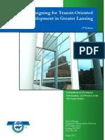 TRANSIT ORIENTED DEVELOPMENT Handbook 2nd Edition