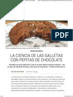 La Ciencia de Las Galletas Con Pepitas de Chocolate _ Recetas El Comidista EL PAÍS