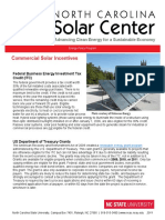 Commercial Solar Incentives