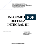 Defensa Integral