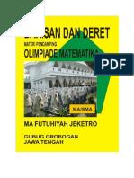Barisan Dan Deret Materi Pendamping Olimpiade Matematikaom Sma Ma Rev1