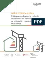 GIZ 2012 NAMA Para La Vivienda Sustentable, Acciones de Mitigación