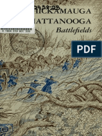 Chickamauga and Chattanooga Battlefileds