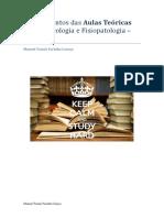 Apontamentos Farmacologia/Fisiopatologia 13-19 Manuel Tomás Caroço