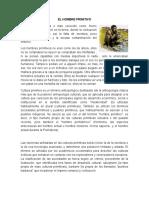 EL HOMBRE PRIMITIVO DESCUBRIMIENTO DE AMERICA CONQUISTA DE AMERICA COLONIZACION DE AMERICA.docx
