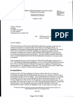 Aug. 31 letter from U.S. Department of Education to U-Va.