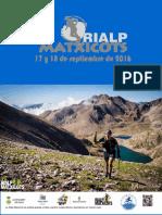 Rialp Matxicots 2016 Guía de Carrera