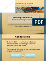 Psicologia Educativa Conductismo