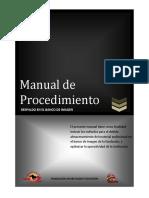 Manual de Procedimiento - Banco de Imagen