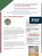 Region 19 Chapter Communication Update