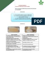 ACTIVIDAD SEMANA 2 Queso Cheddar y Camembert