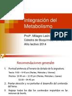 Integración del Metabolismo obj 1 y 2