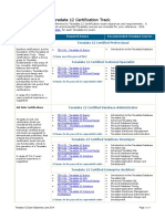 Teradata 12 Certification Exam Objectives June 2014