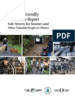 Age-friendly Pedestrian Report Ottawa