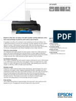 L1800 ITS Printer Datasheet