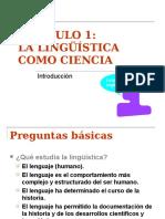 La lingüística como ciencia