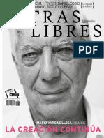 Mario Vargas Llosa, la creación continúa | Índice Letras Libres No. 207