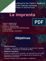 Invención y difusión de la imprenta, Los incunables. Por Natalia Mora
