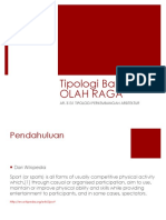 Tipologi Sarana Keolahragaan