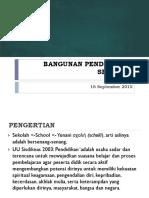 04 Tipologi Sarana Pendidikan 16 September 2015