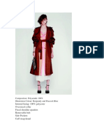 Instruction Guide Coats