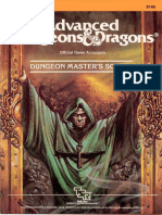 9146 AD&D Dungeon Master's Screen